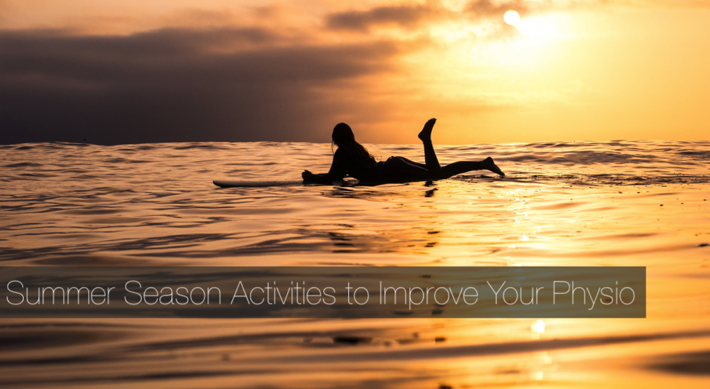 summer physical therapy activities